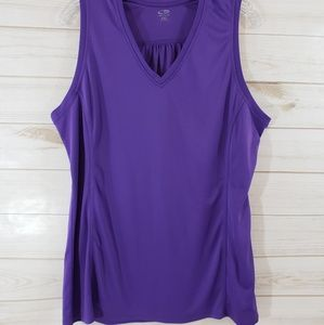 Champion purple tank top XXL